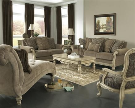 Swell Parkington Bay Platinum Living Room Set Living Room Sets Home Interior And Landscaping Ponolsignezvosmurscom