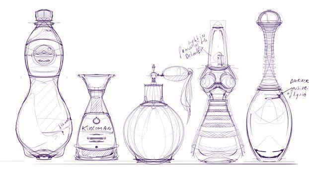 Como Dibujar Un Frasco De Perfume