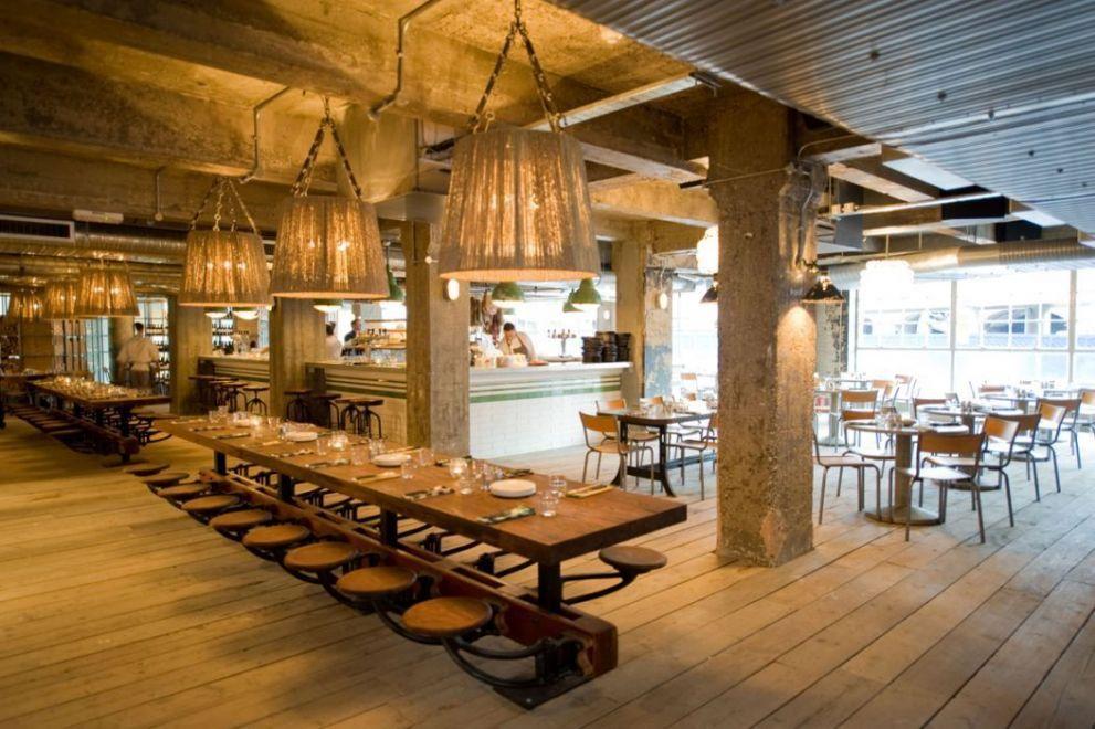Restaurant Bar Design Ideas | Restaurant Interiors: Pizza East |