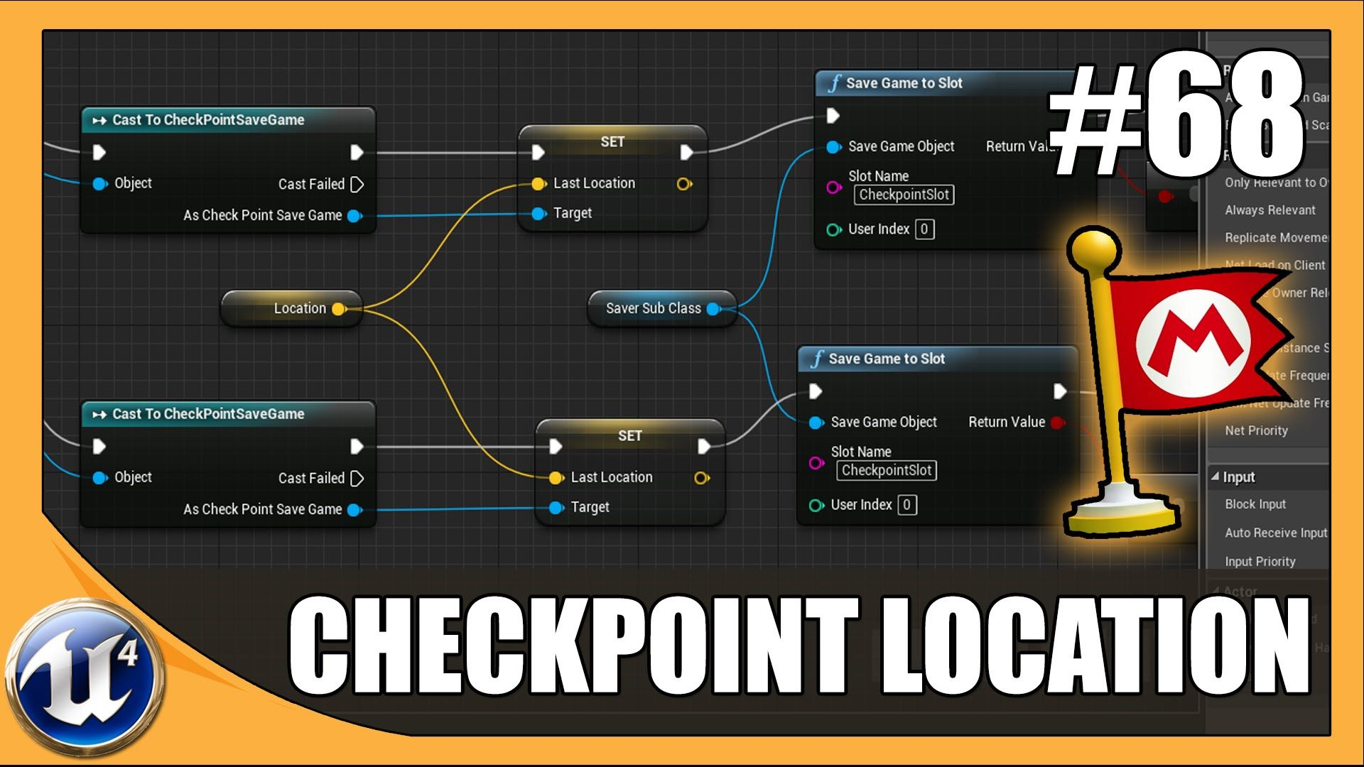Creating a check point system using save game data 68 unreal creating a check point system using save game data 68 unreal engine 4 beginner malvernweather Gallery