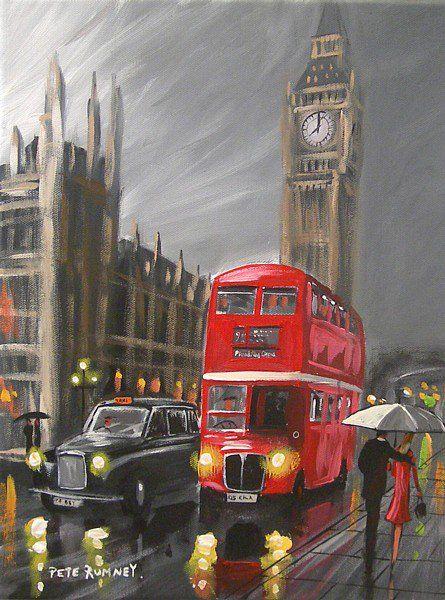Pete Rumney Art Pete Rumney Twitter London Painting