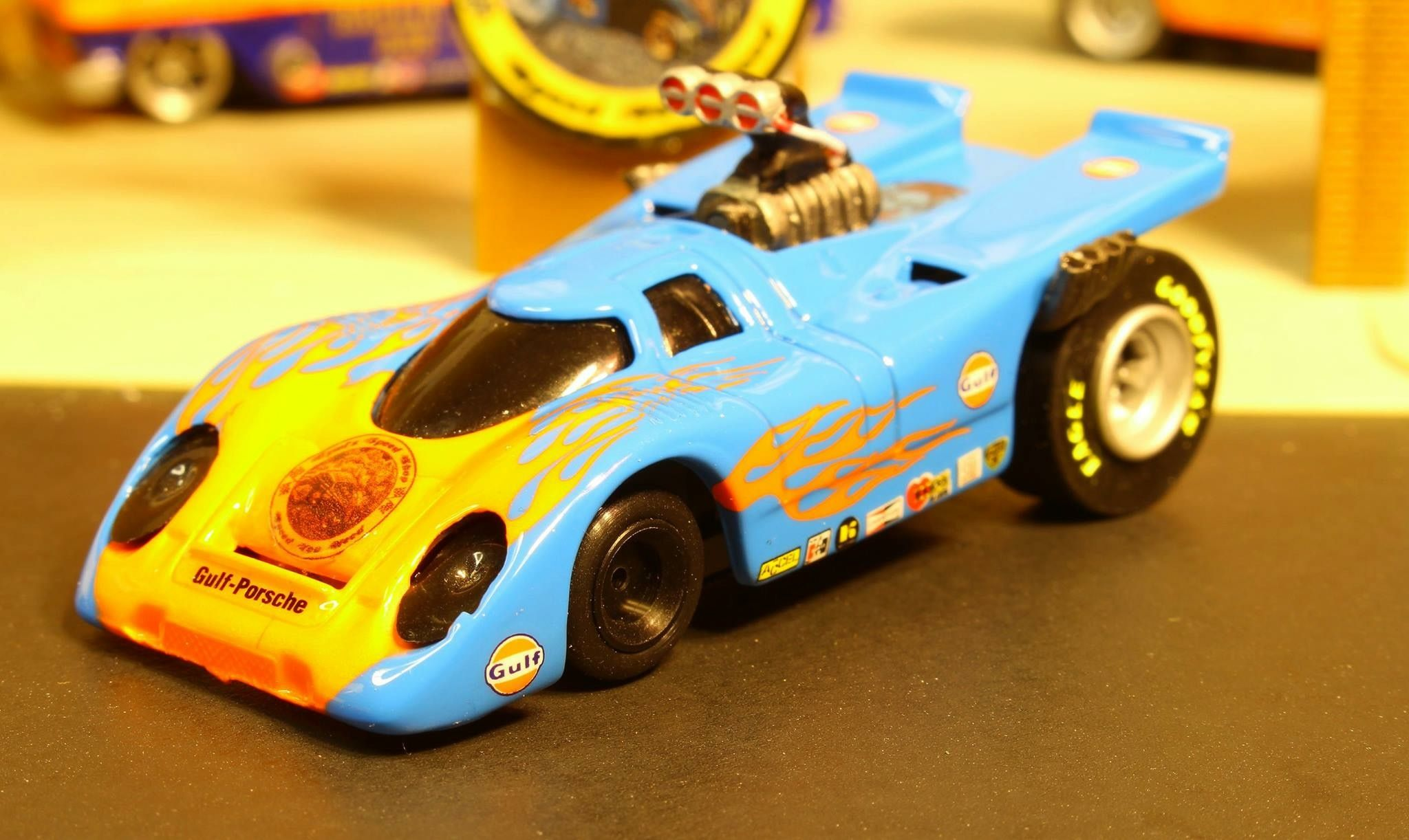 Gymis Speed Shops custom slot cars, he does awesome work in my