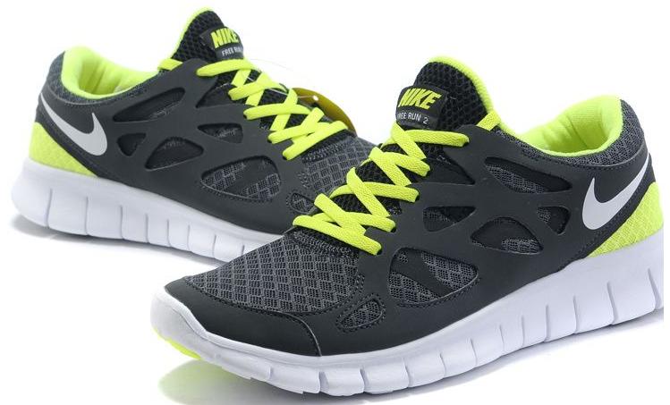 Vendre Pas Cher Free Run 2 Homme Chaussures Noire Grises Verte en ligne  dans France -