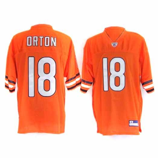 Kyle Orton Jersey, #18 Chicago Bears Authentic NFL Jersey in ...