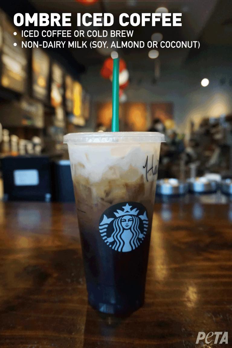 Your Guide To Vegan Starbucks Drinks July 2020 Peta Vegan Starbucks Drinks Vegan Starbucks Starbucks Drinks