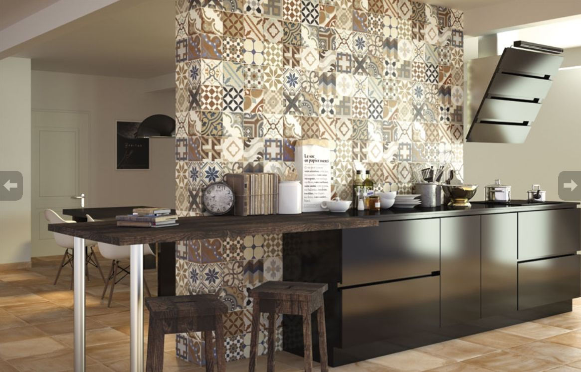 Carreaux De Ciment Cuisine Google Search KUCHNIE W Cementowych - Carreau de ciment mural cuisine pour idees de deco de cuisine