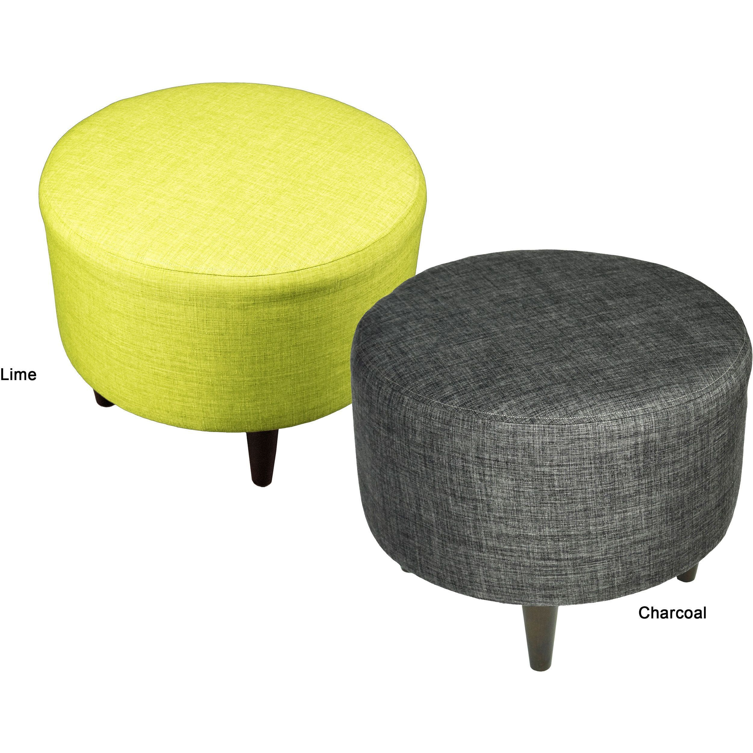Beau Sophia Bennett Round Upholstered Ottoman · Upholstered OttomanUpholstered  Coffee TablesCoffee ...