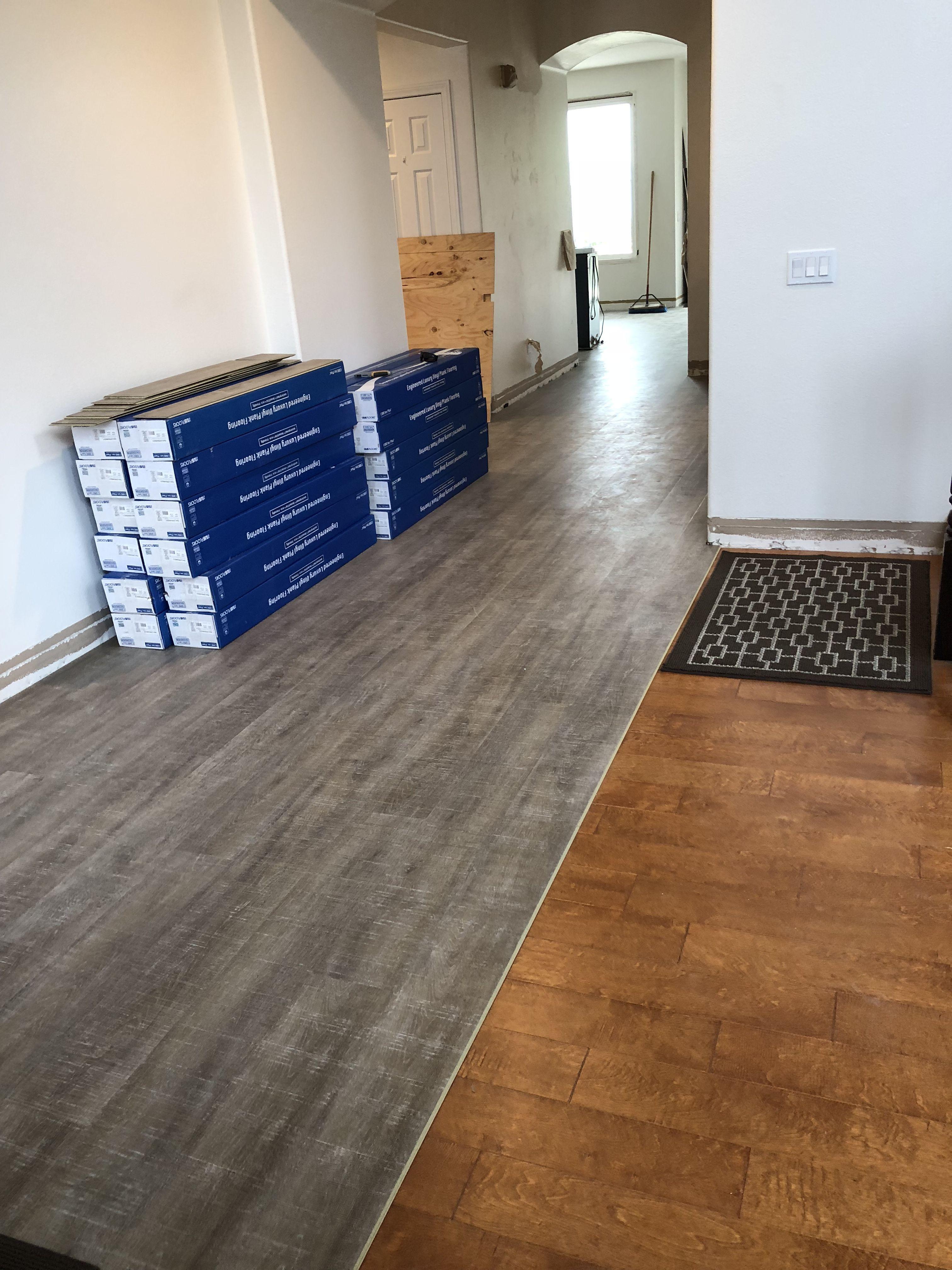 Coretec Installation! Installing laminate flooring