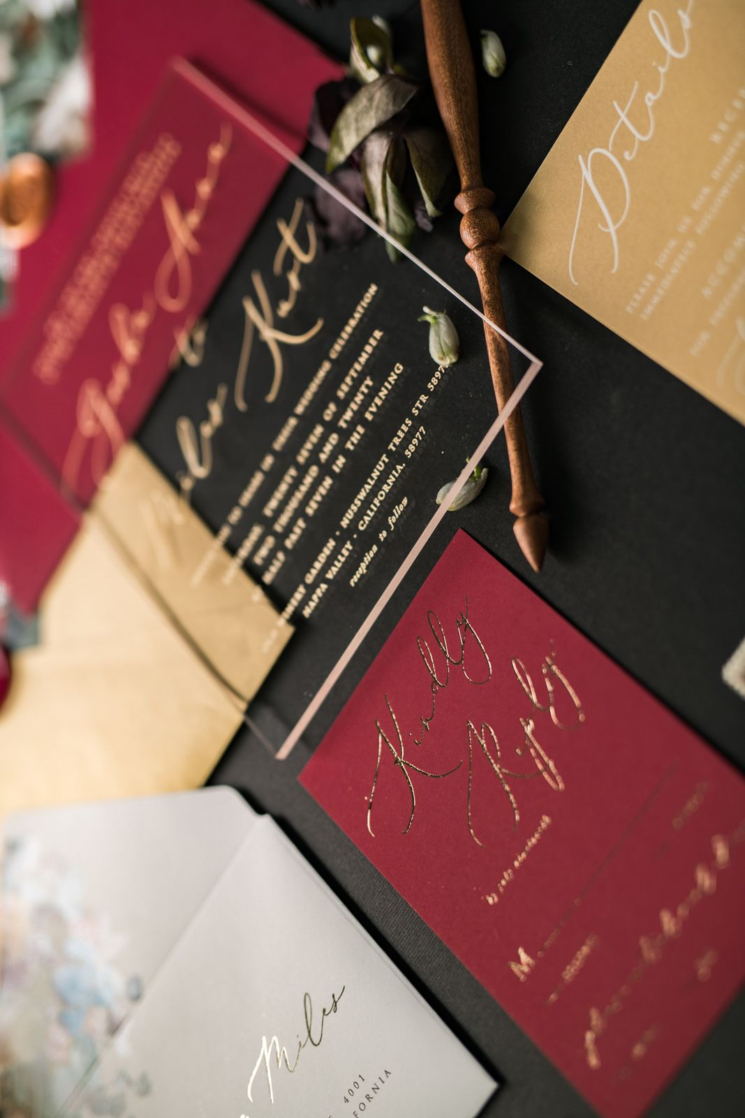 WEDDING INVITATIONS calligraphy | Vintage wedding invitations ...