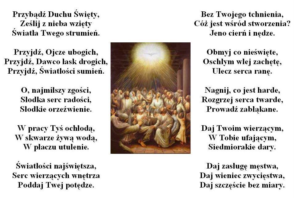 Modlitwy do Ducha Świętego (With images) | Duch święty, Modlitwa ...
