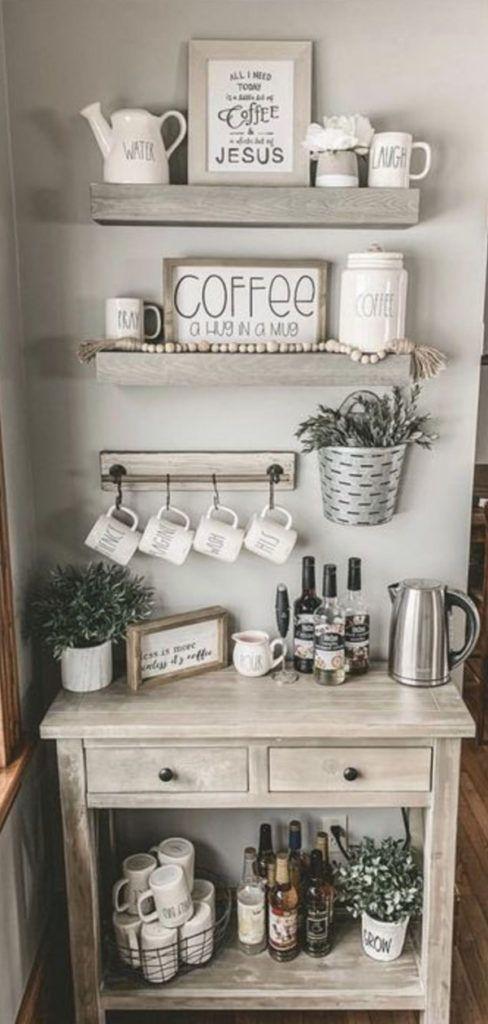 Diy Coffee Station Ideas Build The Most Awesome Home Coffee Bar Coffee Bar Home Coffee Bars In Kitchen Diy Coffee Station