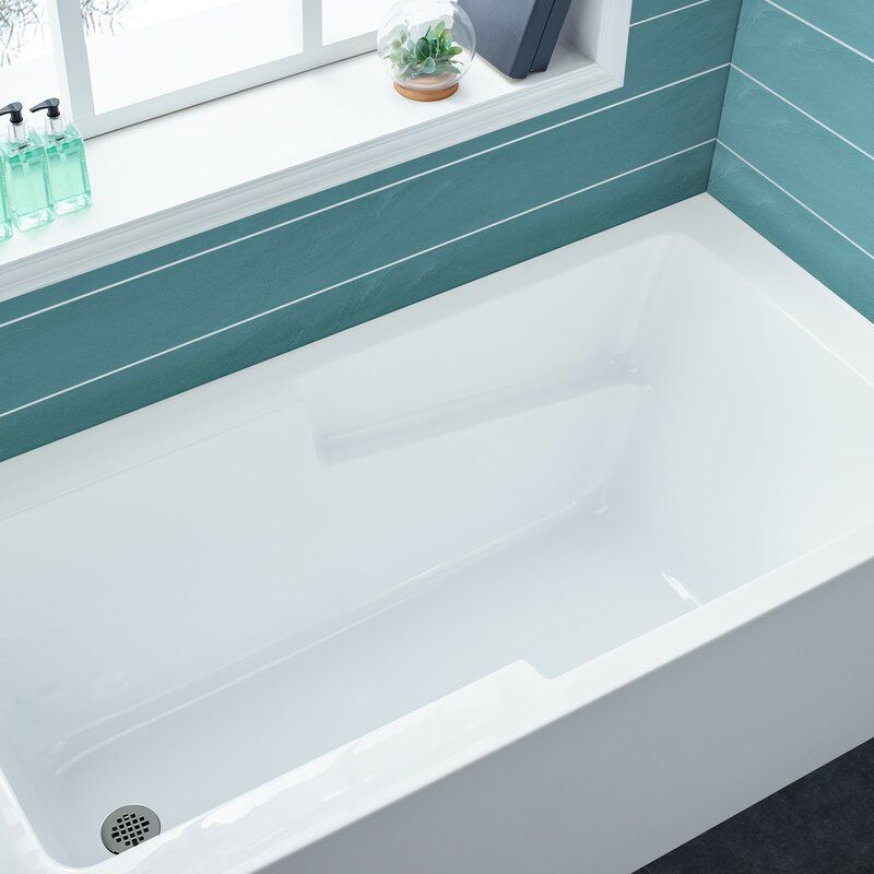 Voltaire 54 X 30 Alcove Soaking Bathtub Soaking Bathtubs Bathtub Modern Tub