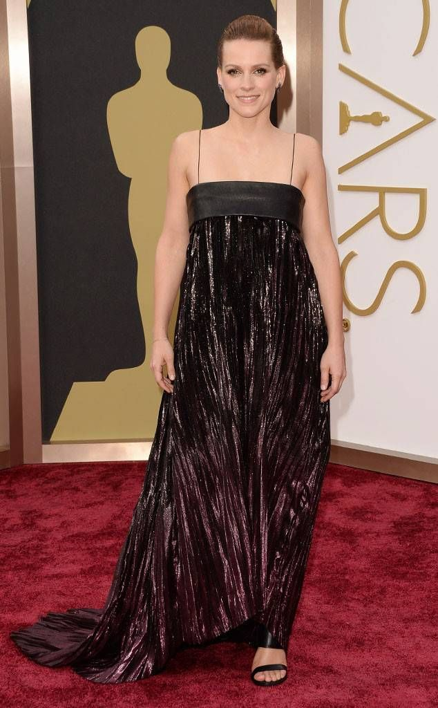 Veerle Baetens from 2014 Oscars Red Carpet Arrivals | Red