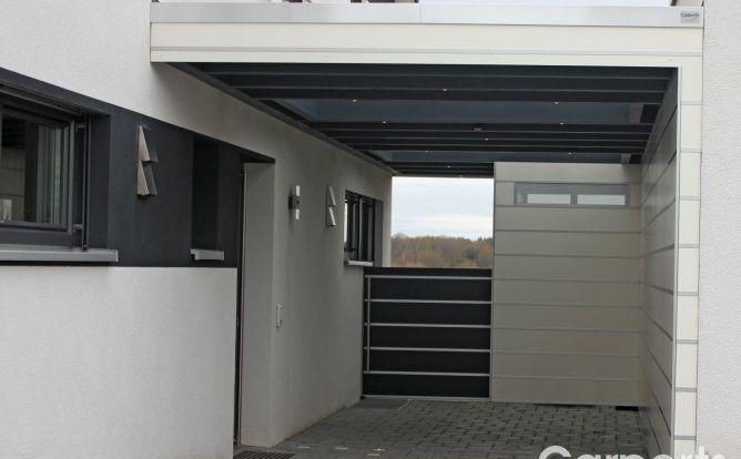 Carport Bauhaus Hpl Trespa Die Witterungsbestandige Variante Haus Planung Carports Haus Umbau