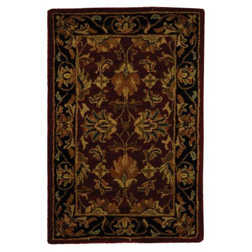 Heritage Red and Black Rectangular: 2 Ft. x 3 Ft. Rug