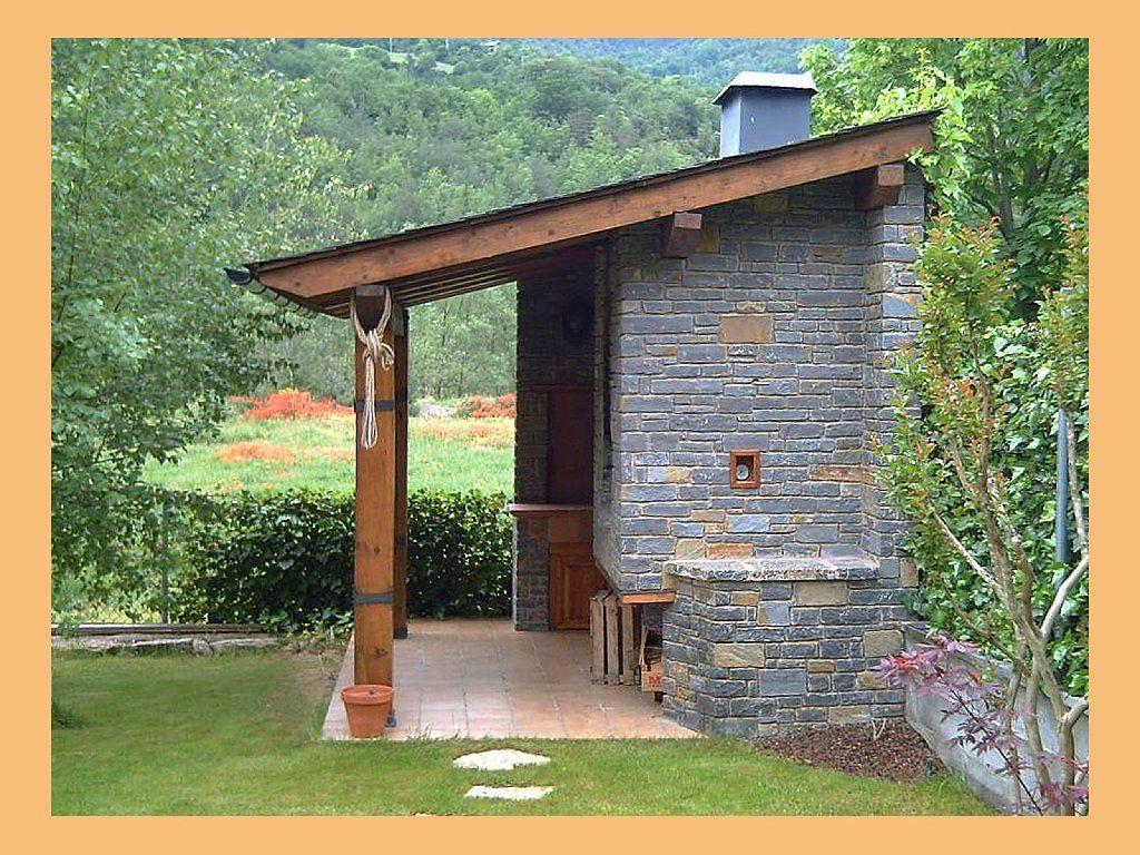 Construir merendero estructura metalica ladrillo vigas - Hacer bricolaje en casa ...