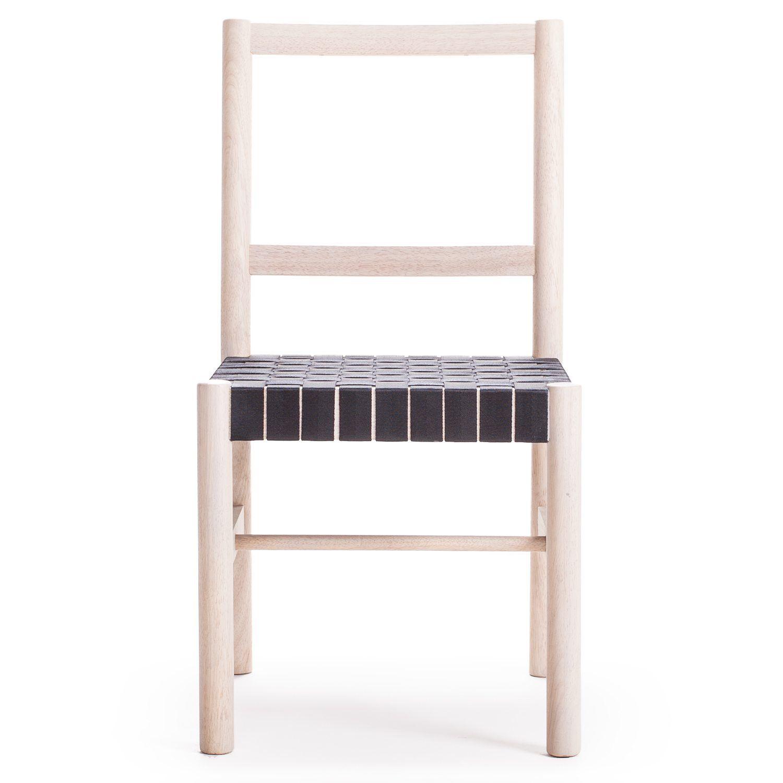 Milo A12 stol, natur/svart i gruppen Möbler / Stolar & Pallar ...