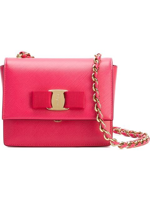 867030bf5756 SALVATORE FERRAGAMO Mini  Ginny  Crossbody Bag.  salvatoreferragamo  bags  shoulder  bags  leather  crossbody