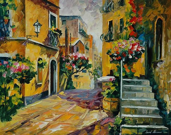 The Sun of Sicily - By Leonid Afremov