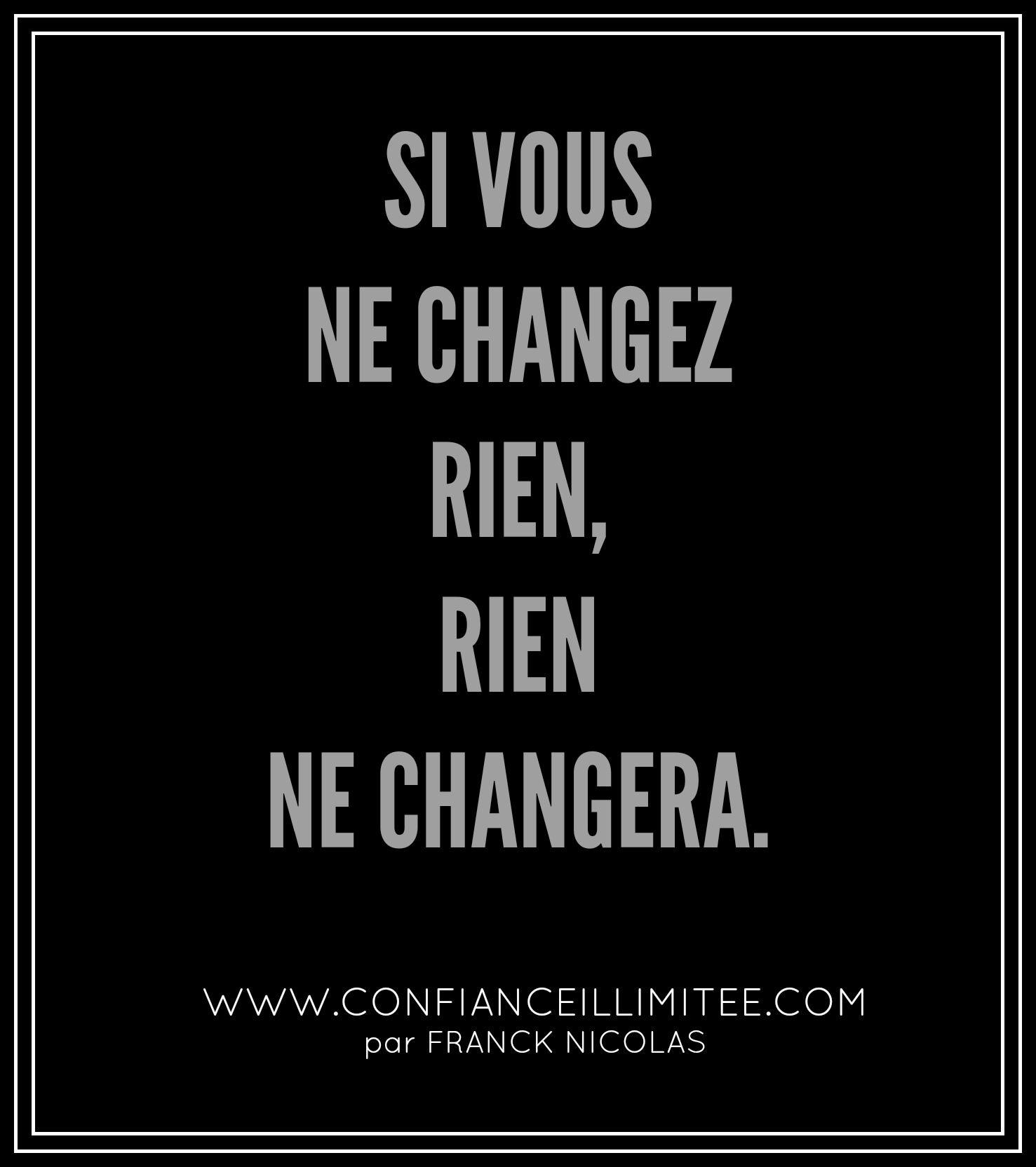 Qu Allez Vous Changer Phrases Courtes Quote Citation