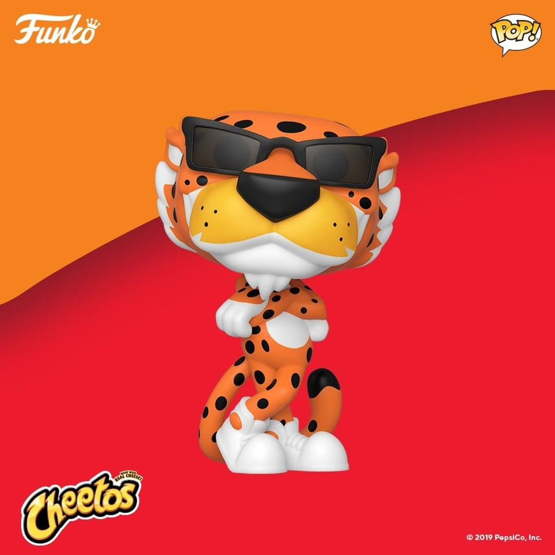 It's not easy being cheesy but Chester Cheetah has