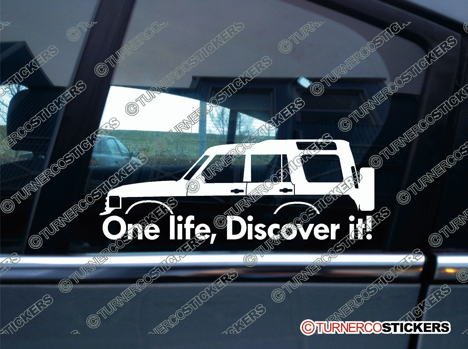 2x One Life Discover It Silhouette Stickers For Land Rover Discovery Classic Ebay Land Rover Land Rover Discovery Land Rover Discovery 1 [ 1194 x 1600 Pixel ]