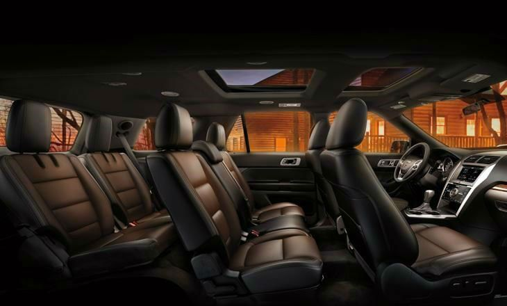 2014 Ford Flex Interior Dimensions Ford Explorer