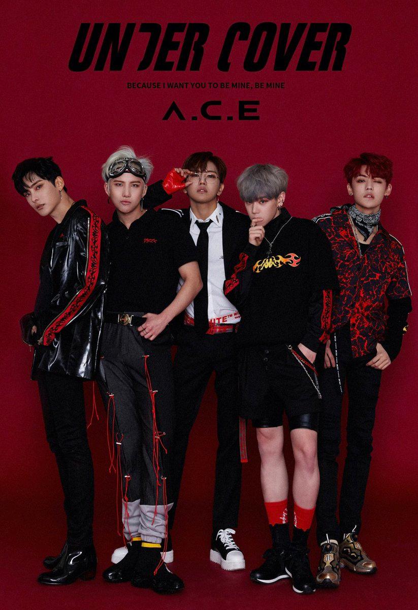 A C E 2nd Mini Album Under Cover Schedule Concept Photos 1 2 Ace Under Cover Ace A C E Jun
