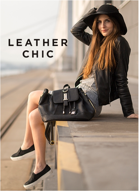 #leather #chic #simpleetchic #outfit