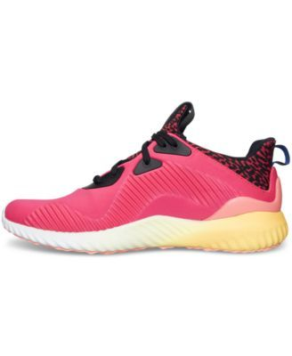 b0bf02479cbbf adidas Women s Alpha Bounce Running Sneakers from Finish Line ...