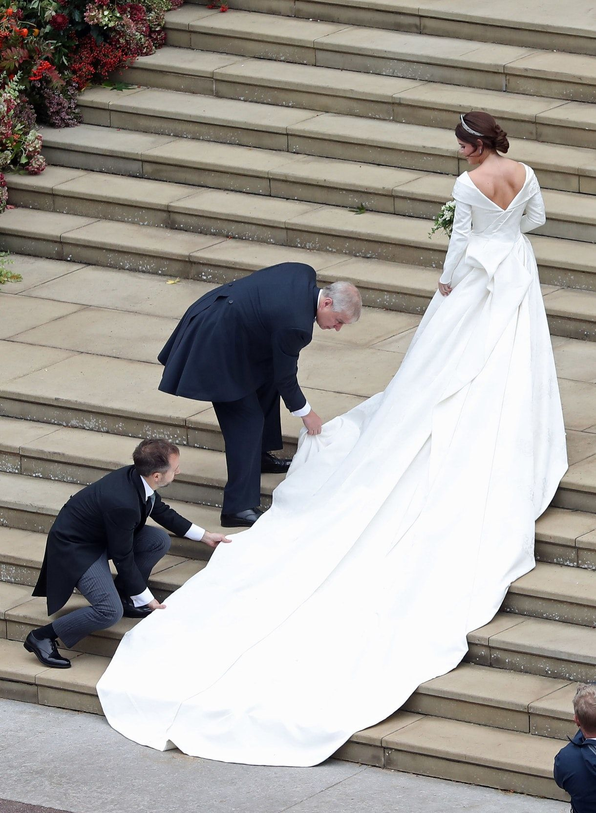 Here's How Princess Eugenie's Wedding Dress Compares To