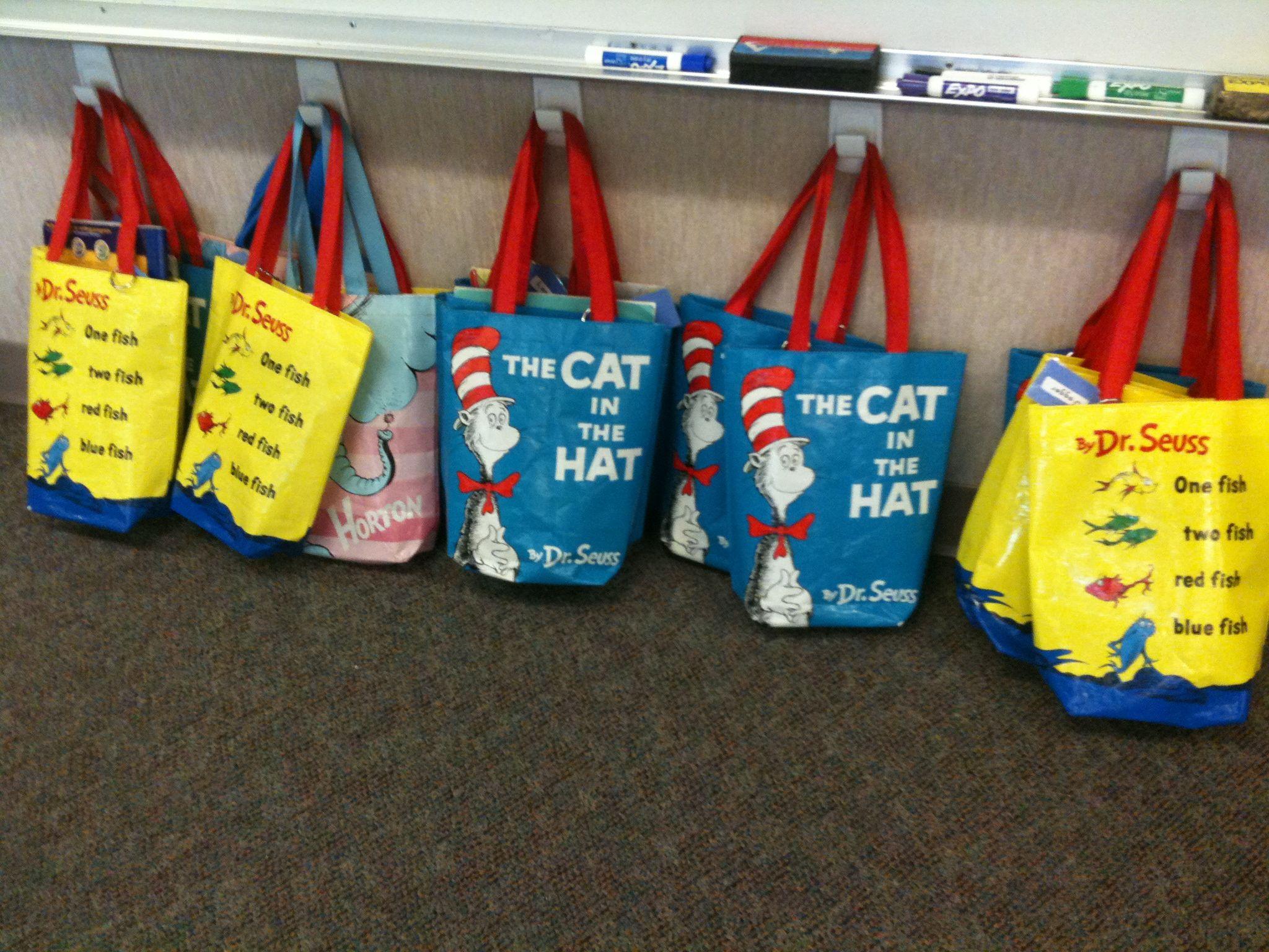 Dr Seuss Book Bags