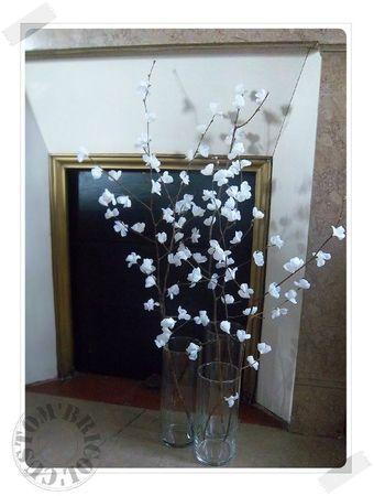 DIY branches en fleurs! Custom' Bricol' Decoration