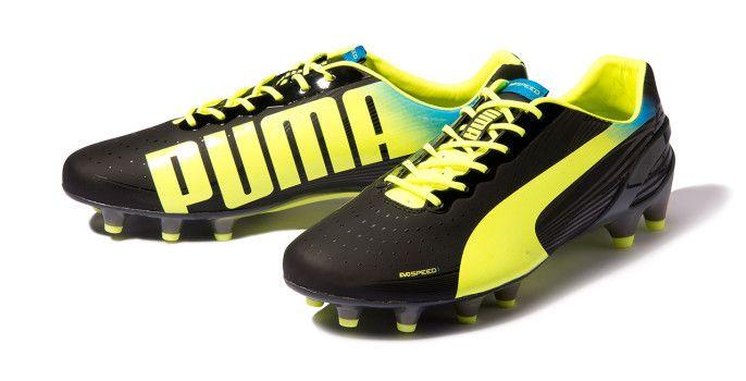 big sale 3dcf3 4bb97 Tacos Puma evoSPEED 1.2 FG Zapatos De Fútbol, Zapatillas, Botas, Tacos De  Fútbol