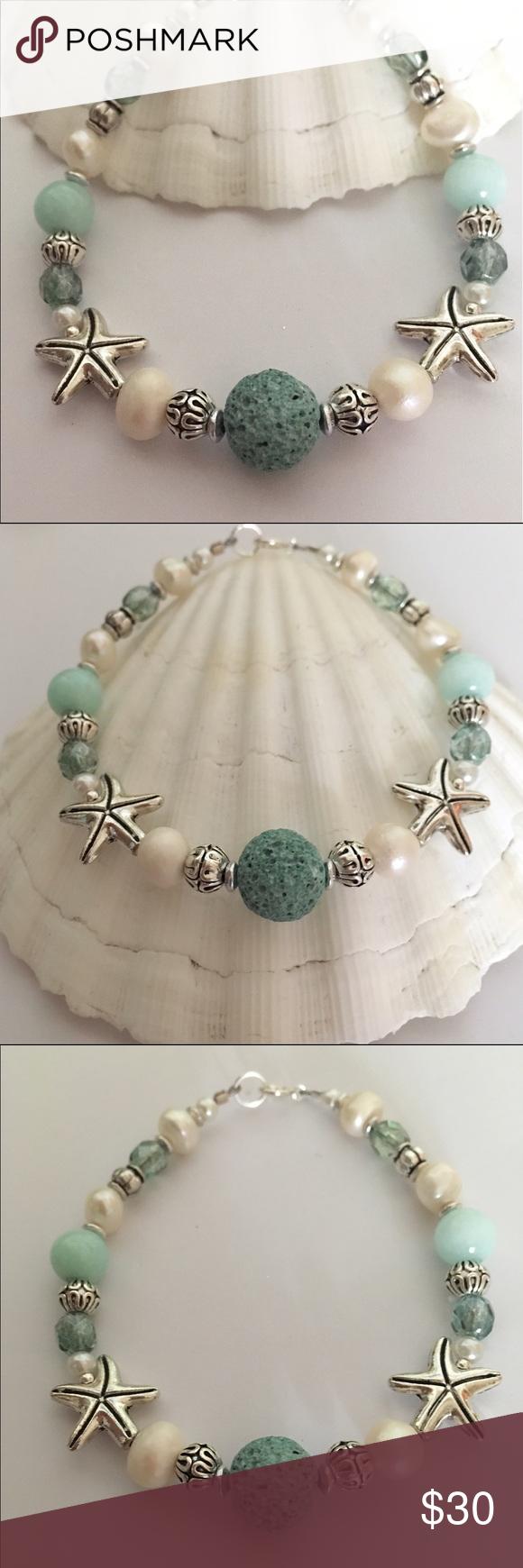 Essential Oil Beach Bracelet Gorgeous
