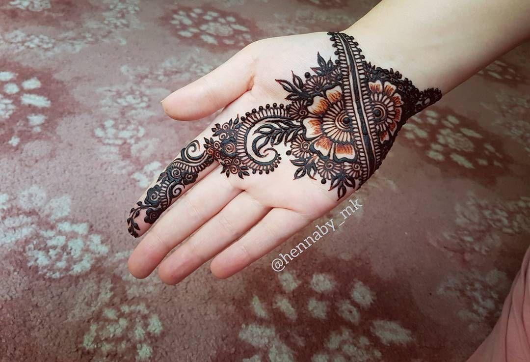 Henna Mehndi Love : Modern faded pattern mehndi design.great work.unique style henna.i