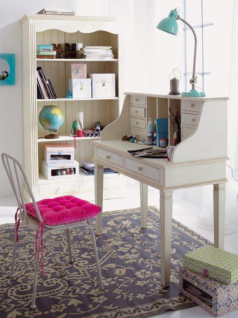 pequenos escritrios decorao e ideias