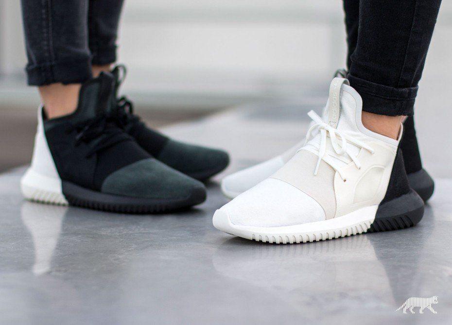 Adidas Tubular Defiant Black And White