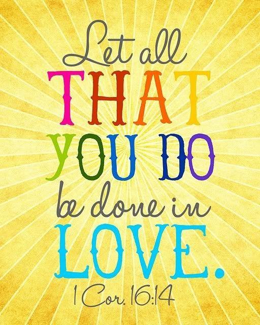 #BeDoneInLove