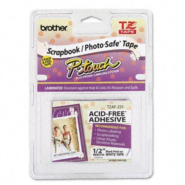 I'm learning all about Kmart.com Brother P-Touch TZ Series Photo And Scrapbook Safe Tape at @Influenster!