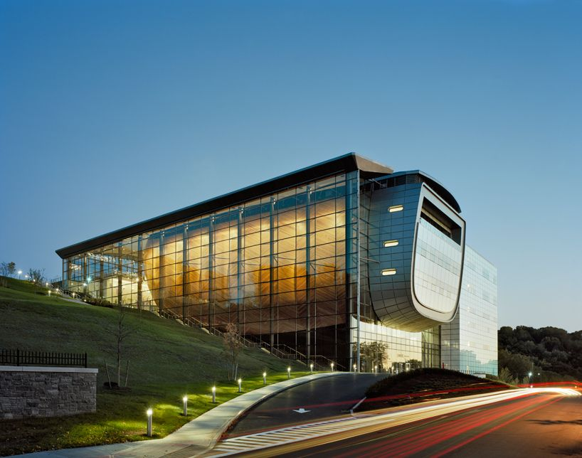 experimental media and performing arts center by grimshaw architects at rensselaer polytechnic institute (RPI) in troy, NY, USA