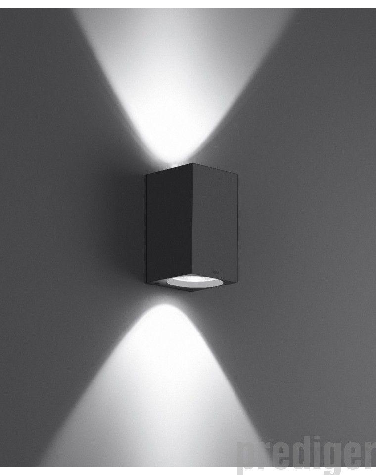 wandleuchten lichtaustritt zweiseitig mit led 6 4 w bega im online shop f r au en uplight. Black Bedroom Furniture Sets. Home Design Ideas