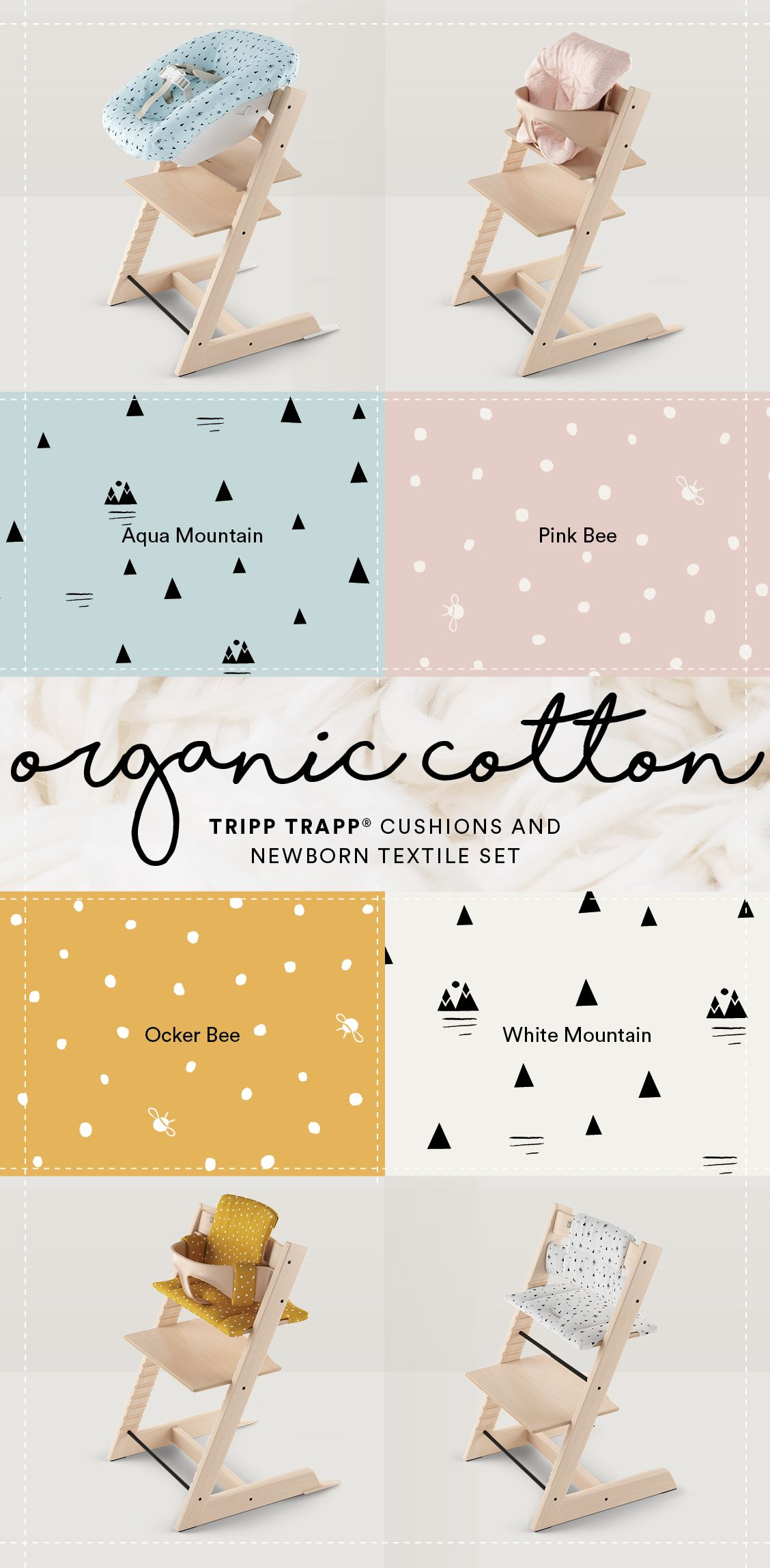 New 100 Organic Cotton Cushions And Accessories For Your Baby S