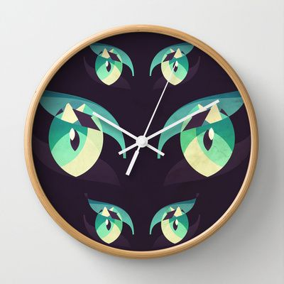 Demons (Imagine Dragons) Wall Clock by VessDSign - $30.00