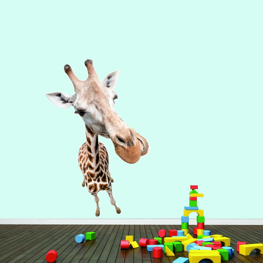 Real life giraffe printed wall decals wall stickers real life real life giraffe printed wall decals home dcor wall decals amipublicfo Gallery