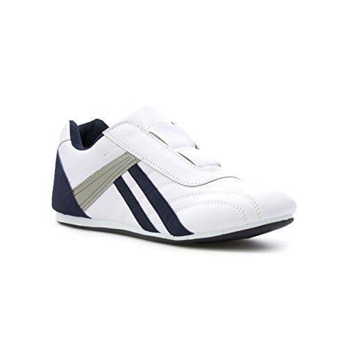 Chaussures De Boxe Adidas Toile Blanche Homme Blanc, Blanc, Taille 37 1/3 Eu