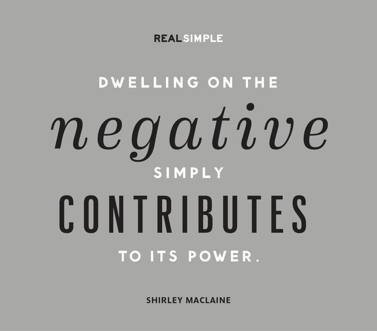 Image result for dwelling on negativity quote