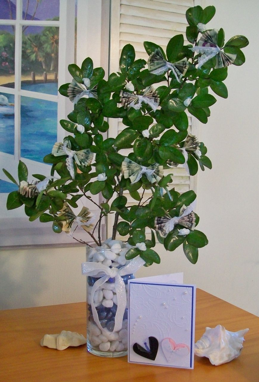 Money tree and card for a wedding | Hobby Lobby ...
