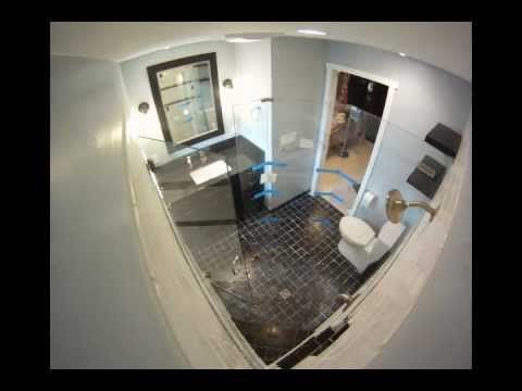 Brad Evers Bathroom Remodel Time Lapse Floral Bathroom Accessories