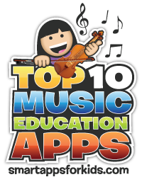 My Top 10 Music Education Apps list has an awesome new logo